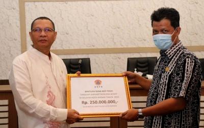 Tanggulangi Dampak Banjir, Pemko Medan Terima Bantuan Rp 250 Juta dari BNPB
