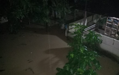 Sungai Deli Kembali Meluap, Rumah Warga Kebanjiran