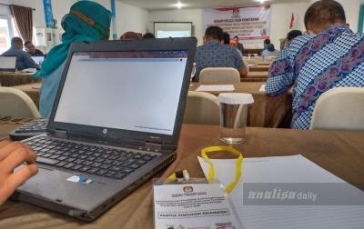 KPU Sergai Pleno Rekapitulasi dan Penetapan Hasil Pilkada 2020