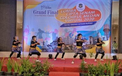 Senam Colorful Medan Diharap Ikuti Tarian Ahoii Jadi Ikon Medan