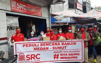 Bantuan Diberikan Kepada 15 SRC Terdampak Banjir Medan