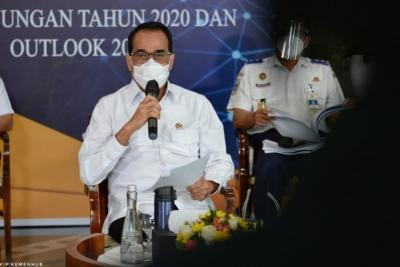 Kementerian Perhubungan Komitmen Lanjutkan Pembangunan di Tengah Pandemi