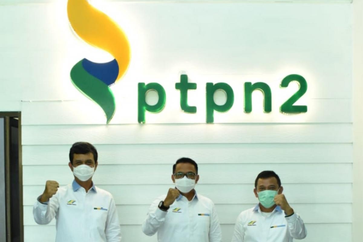 PTPN II Luncurkan Logo Baru Sekaligus Pemberian Insentif Kinerja 2021