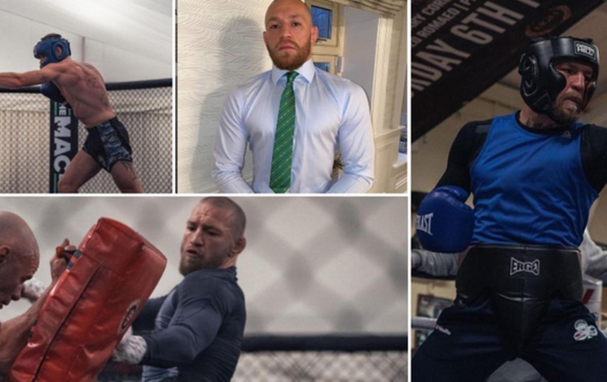 McGregor Jalani Diet Ketat Jelang Lawan Poirier