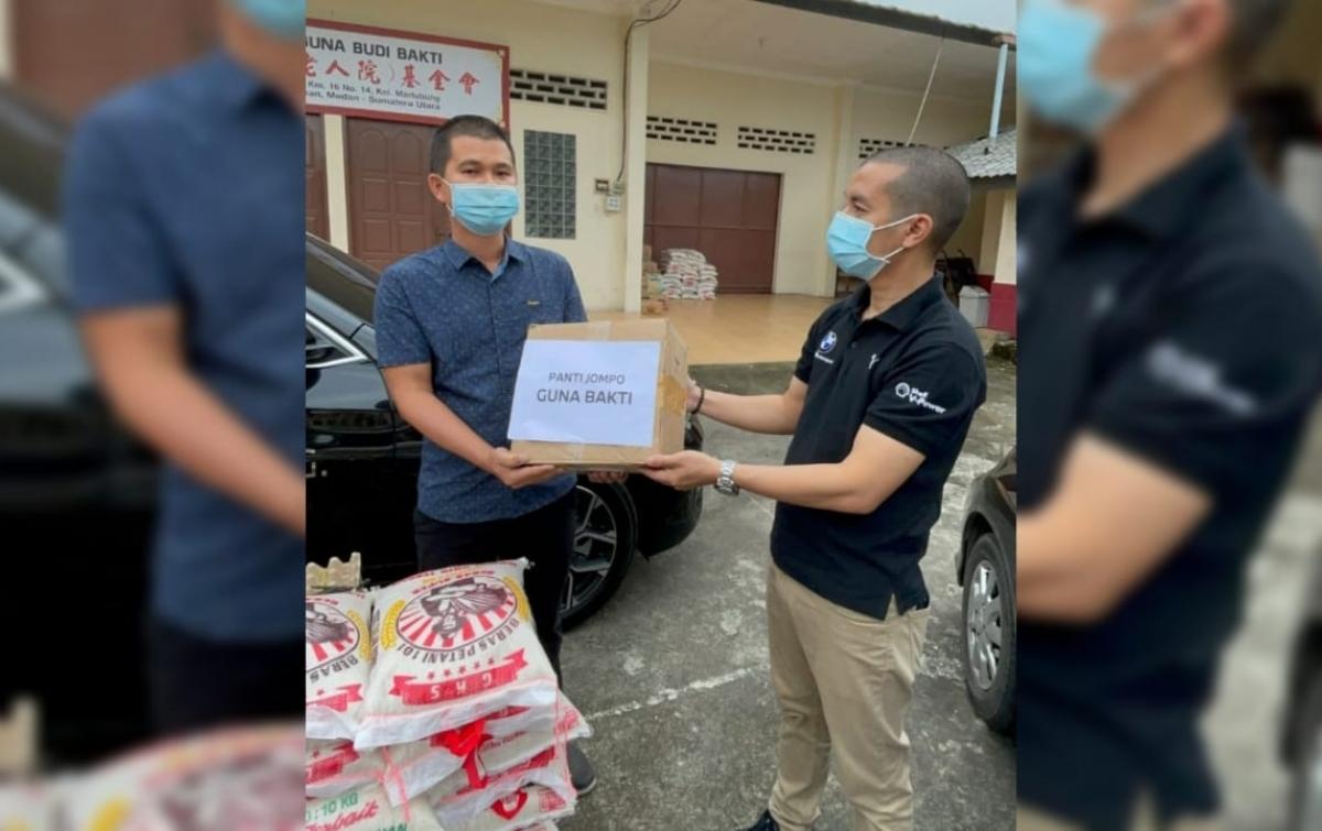 BMW Community Vollunteering, Aksi Peduli Terhadap Warga Panti Terdampak Pandemi
