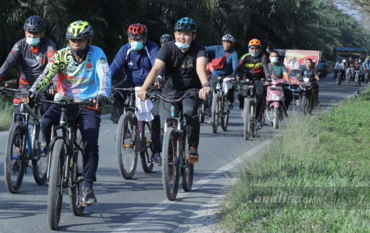 Pemkab Asahan Gandeng Komunitas Sepeda Galakkan 'Gowes'