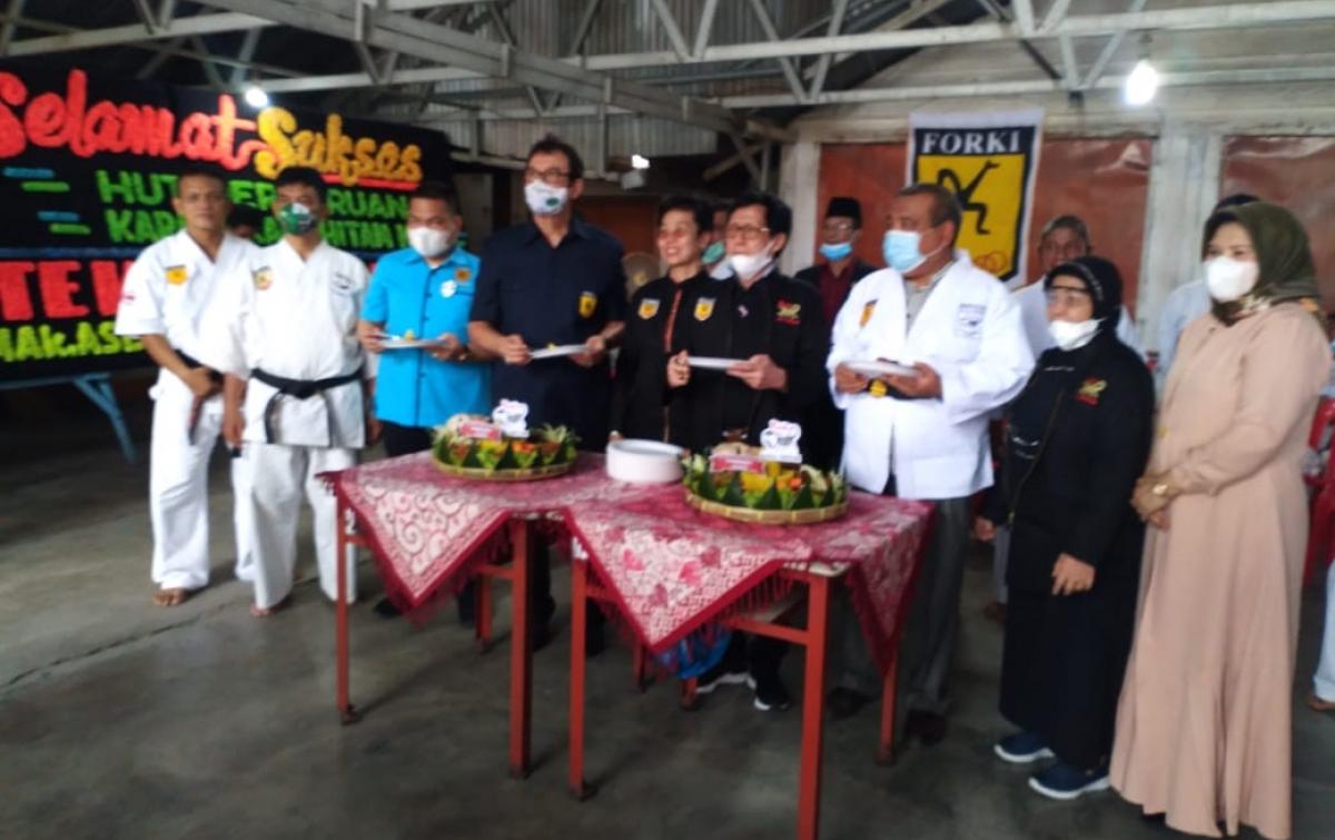 Rahmat Shah Harap Perguruan Karate Kala Hitam Lebih Berprestasi