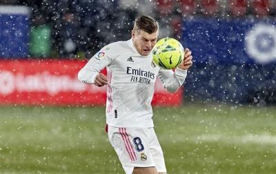 Diguyur Salju, Zidane: Harusnya Ditangguhkan