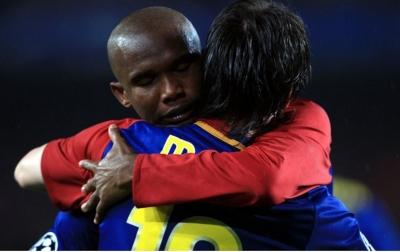 Samuel Eto'o Pilih Pewaris Lionel Messi