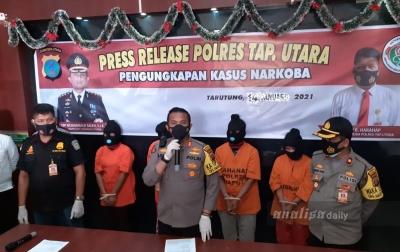 Pakai Sabu dan Mencuri, 4 Wanita Asal Medan Ditangkap