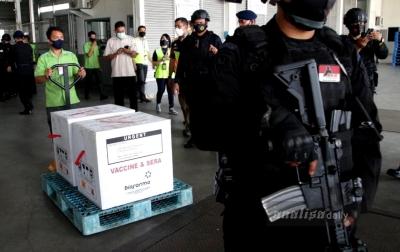 Lagi, 34.840 Vaksin Covid-19 untuk Sumut Tiba di Bandara Kualanamu