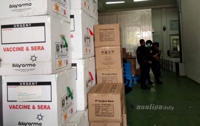 34.840 Vaksin Covid-19 Tiba di Medan, Jatah untuk Sumut Tercukupi