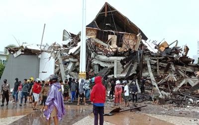 Foto: Gempa Sulawesi Barat