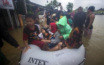 27.111 Rumah Terendam Air, 112.709 Warga Mengungsi