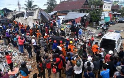 UPDATE: Korban Meninggal Dunia Gempa Sulawesi Barat 56 Orang