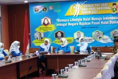 IKWI Gelar Webinar Untuk Memacu Indonesia Jadi Pusat Halal Dunia