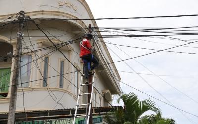 Jaringan Listrik di Wilayah Terdampak Gempa Berangsur Pulih