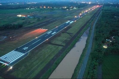 Kemenhub Lakukan Uji Terbang di Bandara Jenderal Soedirman