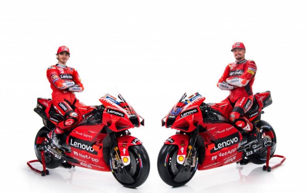 Tampilan Motor Baru Ducati untuk MotoGP 2021