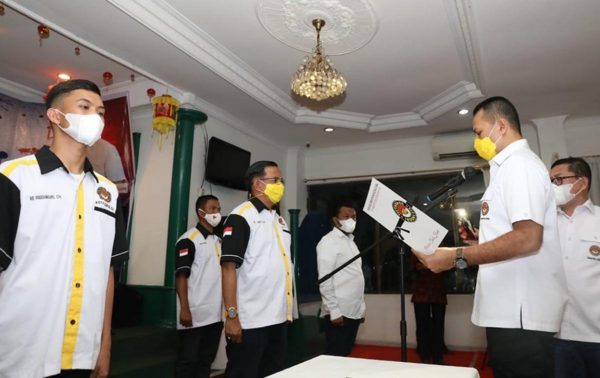 Ijeck Lantik Pengkot Taekwondo Indonesia Sibolga