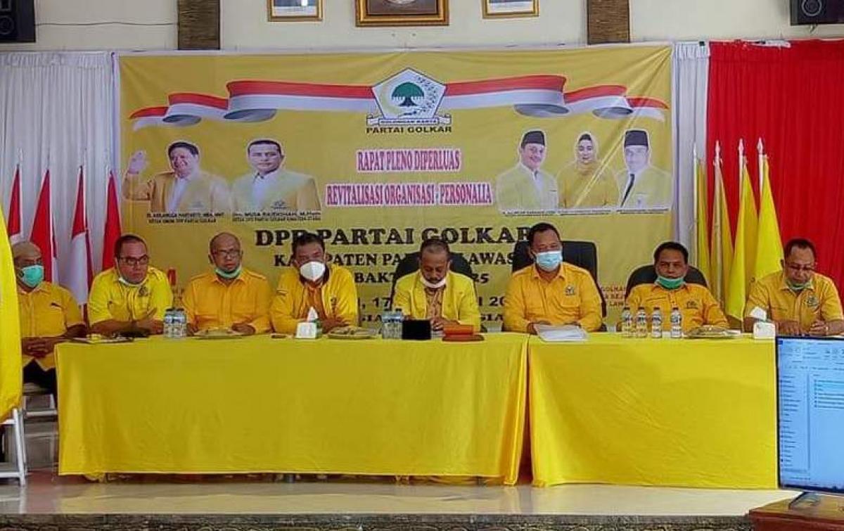 Golkar Palas Targetkan 10 Kursi di DPRD pada Pemilu 2024