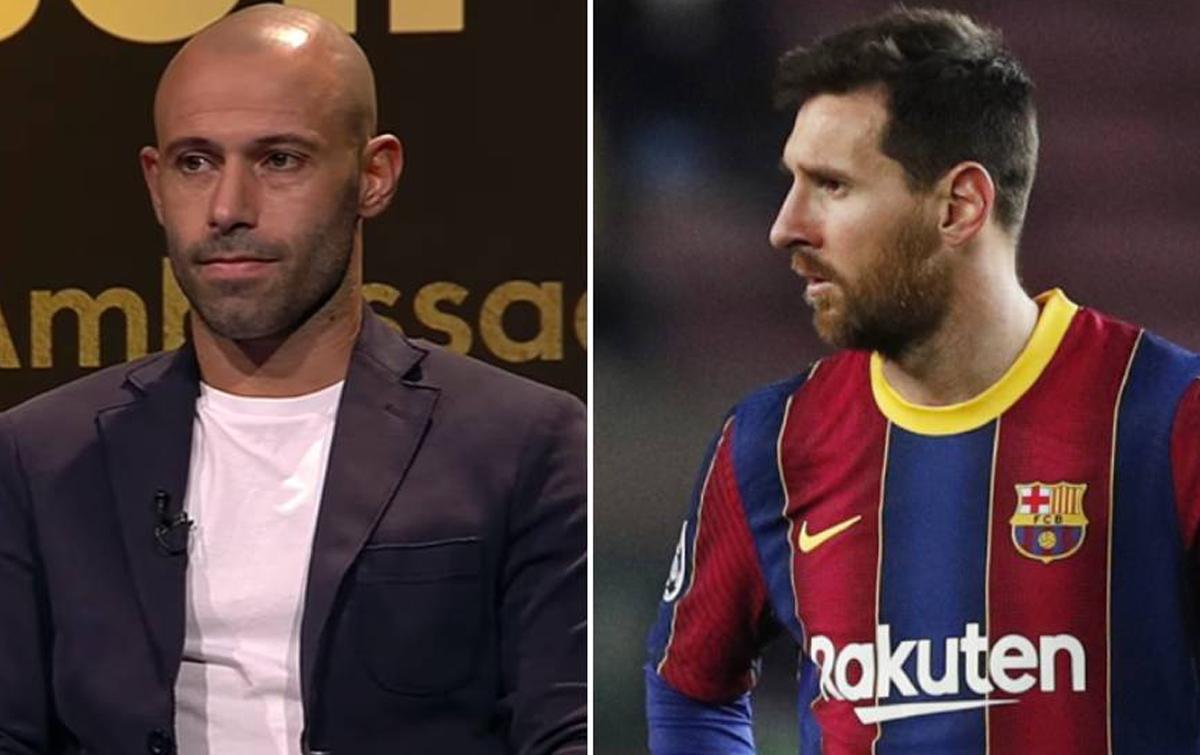 Mascherano: Saya Tidak Akan Menasehati Messi