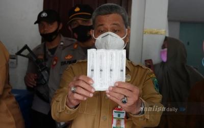 Vaksin Covid-19 Tiba di Padang Lawas Utara