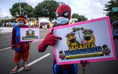 Foto: Program Jakarta Bermasker