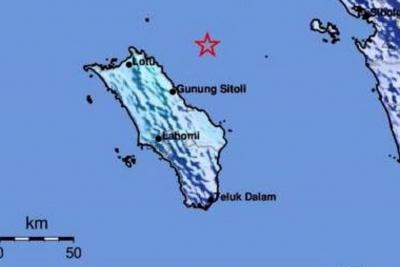 BMKG: Gempabumi 4,5 Magnitudo Guncang Pulau Nias