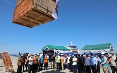 Wagub Sumut Ijeck Lepas Ekspor Perdana Melalui Pelabuhan Sibolga