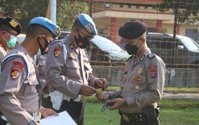 Propam Polda Sumut Gelar Operasi Gaktiblin di Polresta Deliserdang