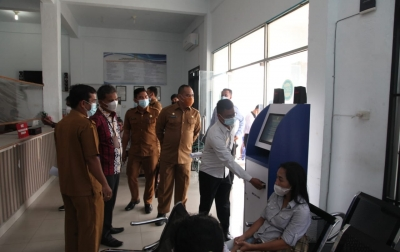 Ombudsman Sumut Kunjungi Kantor Disdukcapil dan DPM-PTSP