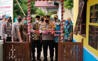Kapolres Batubara Resmikan Posko PPKM di Pulau Sejuk