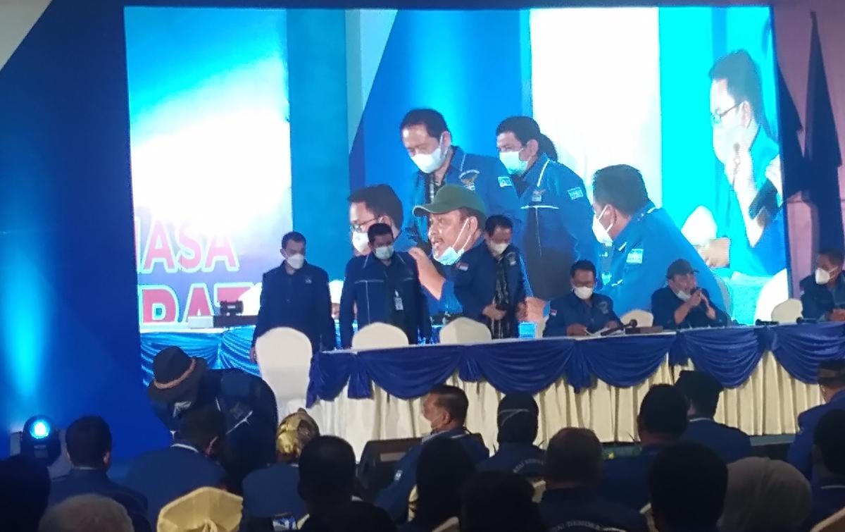 Marzuki Ali Jadi Ketua Pembina Partai Demokrat