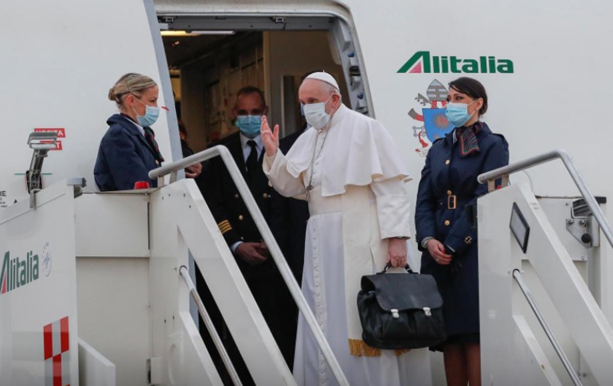 Paus Fransiskus Tiba di Baghdad