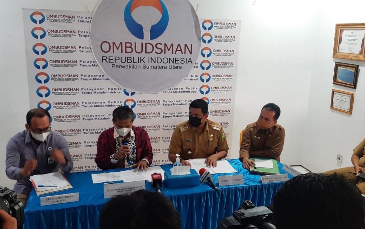 Terkait Insentif Nakes, Ombudsman Sampaikan 3 Rekomendasi ke Pemko Medan