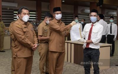 9.499 Tenaga Kontrak Pemerintah Aceh Terima SK