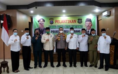 Pengurus PAMK Polresta Deliserdang Periode 2021-2024 Dilantik