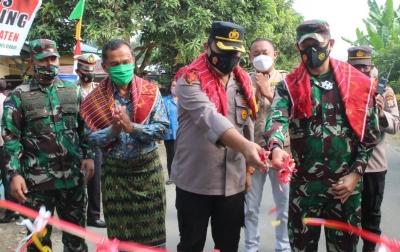 Kampung Tangguh Nusantara Desa Batu Rejo Diresmikan