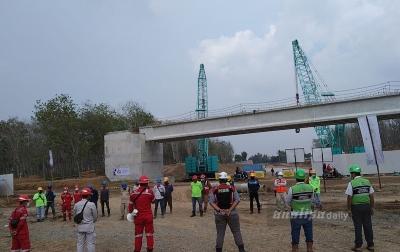 Kesulitan Dana, Pembangunan Tol Kuala Tanjung - Siantar Terus Dikebut