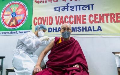 Dalai Lama Imbau Warga Agar Mau Divaksin