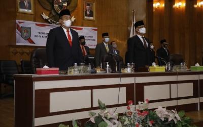 Peringati Hari Jadi ke-75, DPRD dan Pemkab Asahan Gelar Rapat Paripurna