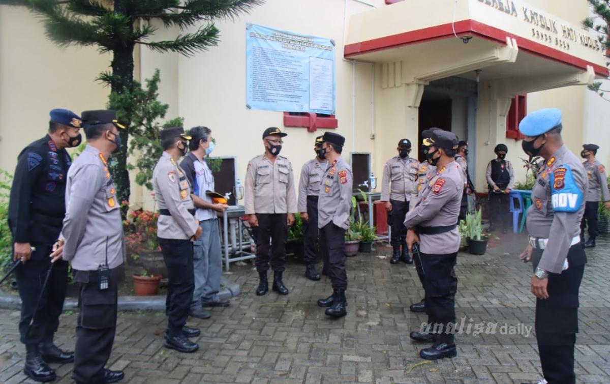 Ibadah Umat Kristiani di Aceh Berjalan Aman dan Damai