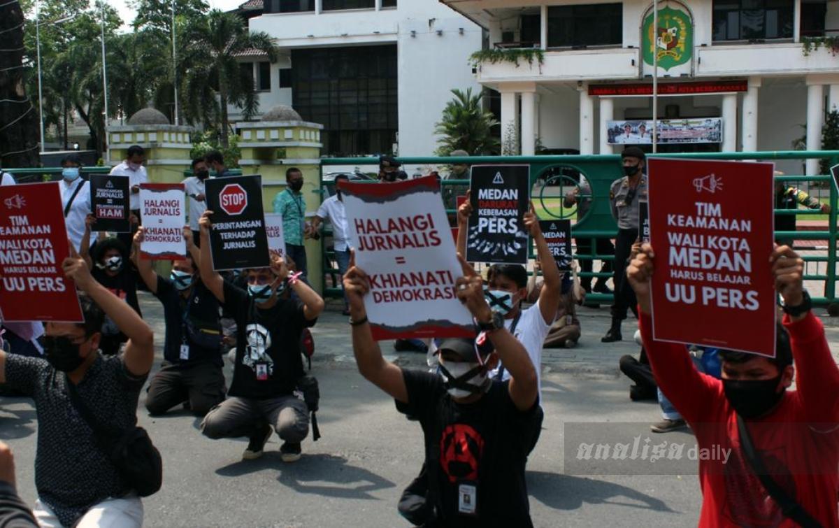 Tuntutan Belum Dipenuhi, FJM: Medan Masih Darurat Kebebasan Pers