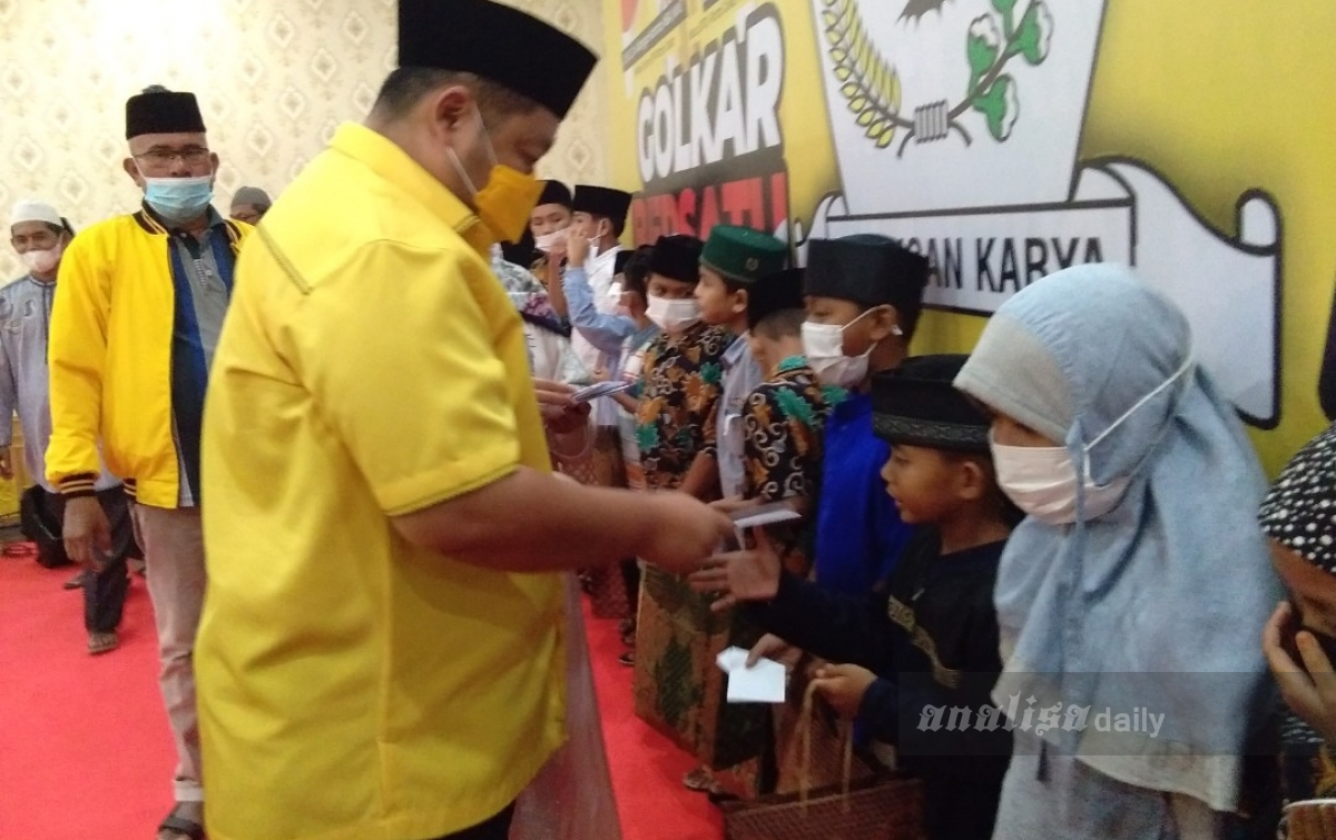 14 PK Dukung Ginichi Siregar Pimpin Golkar Deli Serdang