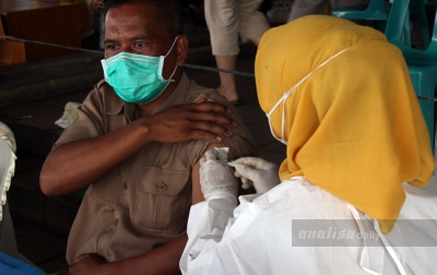 Dinas Kesehatan Langkat Sudah Memvaksin 16.592 Orang