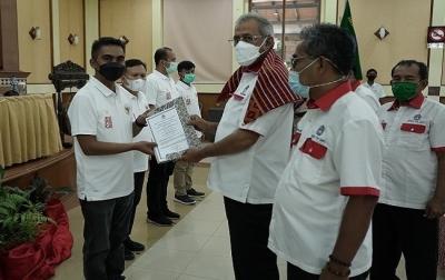 Theopilus Ginting Terpilih Sebagai Ketua Askab PSSI Karo