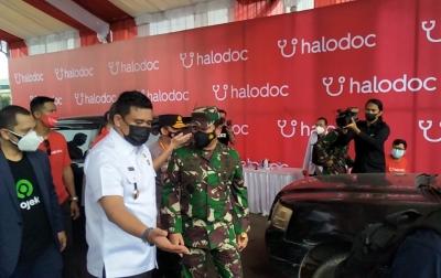 60.000 Dosis Disiapkan untuk Vaksinasi Drive Thru di Lanud Soewando
