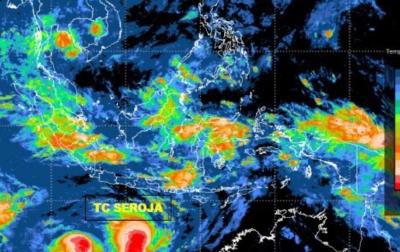 Intensitas Siklon Tropis Seroja Meningkat