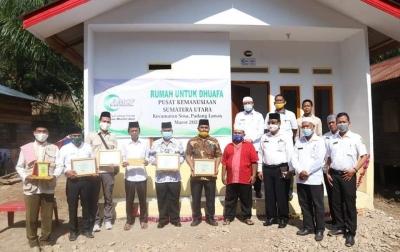 AMCF Bantu Rumah Duafa di Palas